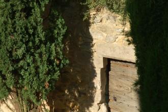Entrée de la terrasse